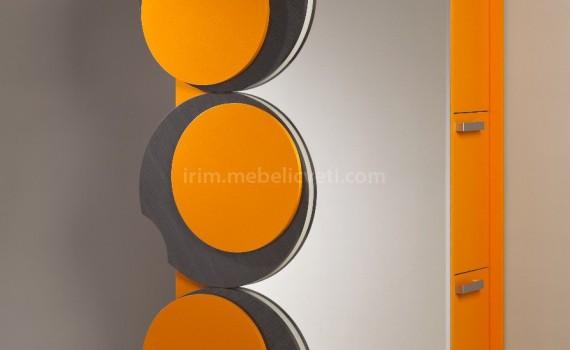 Портманто Монпелие с огледало